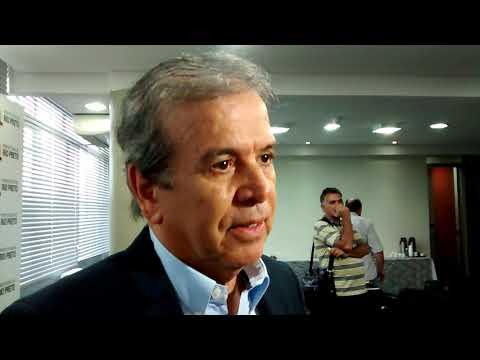 Coletiva do prefeito Edinho Araujo para anunciar o secretario interino de Desenvolvimento, José Onofre Araujo