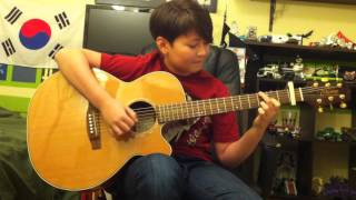 Disney Bolt Soundtrack -Miley Cyrus and John Travolta - I Thought I Lost You- Fingerstyle Guitar