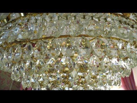 Kristall Lampen auf Hochglanz polieren - Lilo Siegel