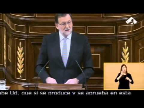Rajoy: Responsabilidad y sentido de Estado