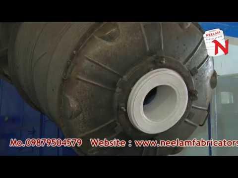 2 Arm Rotomoulding Bi Axial Machine
