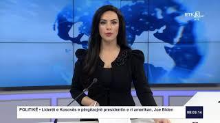 RTK3 Lajmet e orës 08:00 22.01.2021