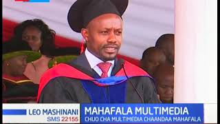Chuo cha Multimedia chaandaa mahafala ya 6 huku wanaofuzu wakiimizwa kuwa wavumbuzi