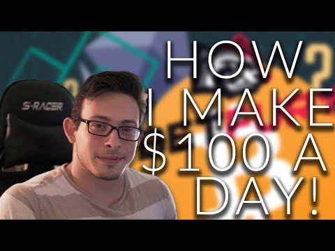 How to quickly earn 100