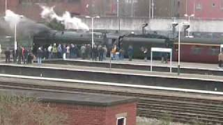 preview picture of video '71000 Duke of Gloucester at Chester - 01/03/2008 (Part 2)'