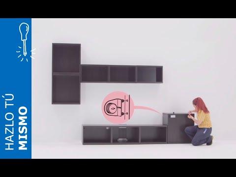 Instrucciones de montaje del mueble de Televisión con almacenaje BESTÅ - IKEA