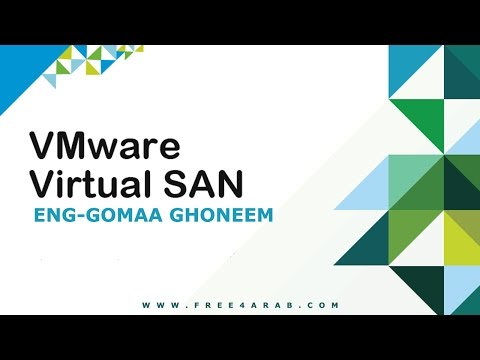 01-VMware Virtual SAN (Overview Part 1) By-Eng Gomaa Ghoneem | Arabic