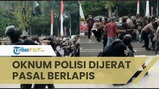 Sempat Viral Mahasiswa Dibanting saat Demo, Kini Oknum Polisi Ditahan dan Dijerat Pasal Berlapis