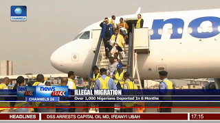 Illegal Migration: Over 1,000 Nigerians Deported In 6 Months