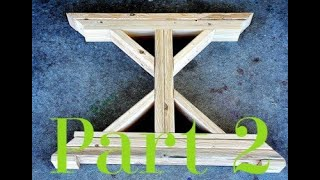 How To Build A Farmhouse Table Part 2