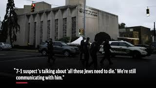 Hear 911 audio as gunman attacks synagogue