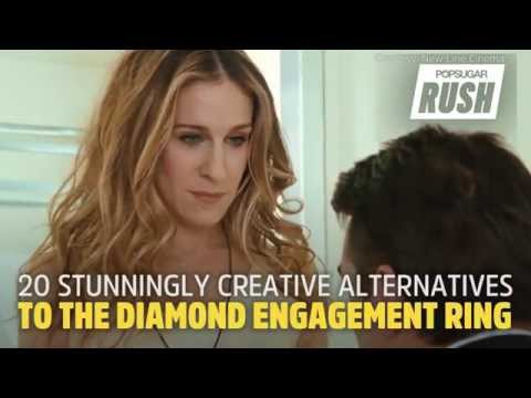 Creative Engagement Ring Ideas That Aren't Diamonds
