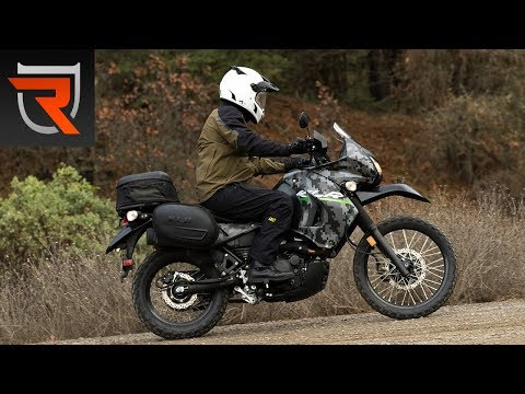 2016 Kawasaki KLR650 Motorcycle First Test Review Video | Riders Domain