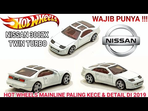 HOT WHEELS NISSAN 300ZX TWIN TURBO, DETAIL AND ALMOST REAL