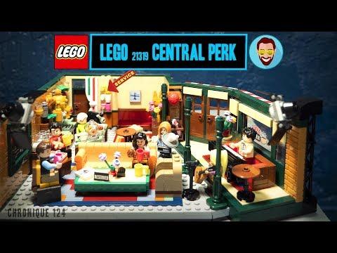 Vidéo LEGO Ideas 21319 : Central Perk (Friends)