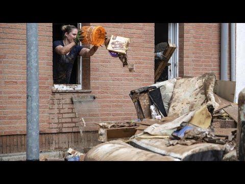 Γερμανία:Επιστροφή στις πληγείσες περιοχές