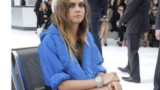 Cara Delevingne, Lily-Rose Depp at Chanel