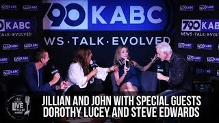 Jillian Barberie and John Phillips from the KABC Subaru Live Stage