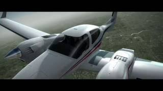 Flight Sim Multi Engine Tutorial 1: FSX Alabeo Da42 and Sim720 KAVX