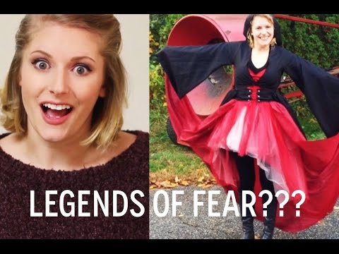 fabric reveal | Legends of Fear | guess my Halloween costume!