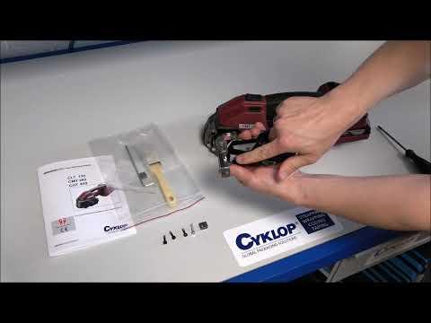 CMT 260 / CHT 450 / CLT 130: Bandgeleiding verwisselen