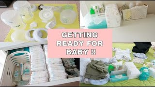 PREPARING FOR BABY'S ARRIVAL | SECOND TIME MOM | 35 WEEKS PREGNANT | BABY BOY | VLOG #21