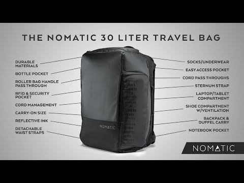 The NOMATIC 30L Travel Bag