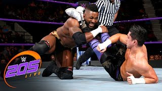 Rich Swann & Cedric Alexander vs. TJP & Tony Nese: WWE 205 Live, July 25, 2017