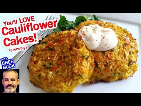 Cauliflower Cakes Recipe You'll Love!