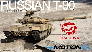 Russian T-90 - Heng Long TK6.0 RC Tank - Motion RC Overview