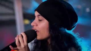 spending a day with  Alessia Cara  II performing at the island