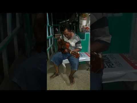Abang becak main gitar SKILL DEWA...!