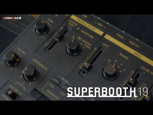 Superlative instruments - Space Bee (Superbooth19)