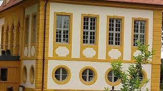 Бамберг Bamberg красивый Графский  Богатый особняк .