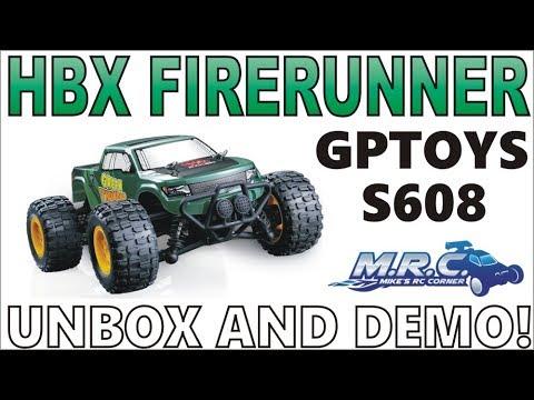 This truck ROCKS! HBX Firerunner