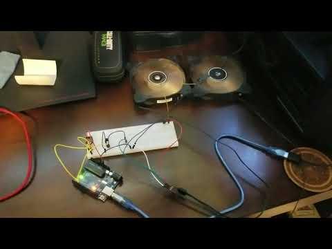 Remote Control Fan Regulator With Arduino - смотреть онлайн