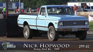 Central Illinois Truck Pullers - 2018 Four-Wheel Drive Factory Stock Gas - Truck Pulls Compilation