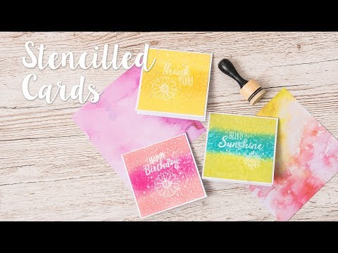 Cardmaking with stamps! - with Katie Skilton