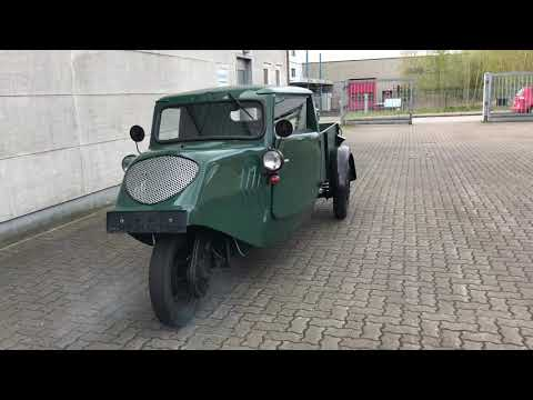Video Sonstige Vidal und Sohn Tempo A400 GUTBROD restauriert