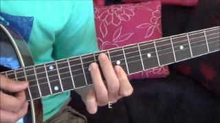 The Climb (Miley Cyrus) Fingerstyle Guitar Tutorial with Chords