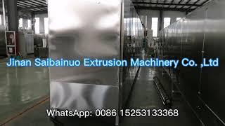 2D 3D Potato Snack Pellet Fryums Food Processing Line Bugles Chips Making Machine youtube video