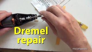 How to Fix a Dremel Moto Tool model # 395