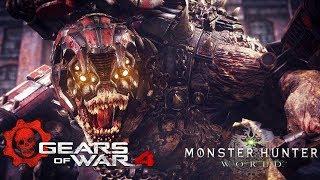 Gears of War X Monster Hunter : Brumak In Monster Hunter???
