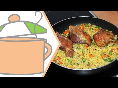 How to Cook Nigerian Fried Rice | All Nigerian Recipes