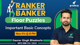 Must Try Floor based puzzles || All Bank Exams || Reasoning Tricks || Gradeup || Gaurav Singh