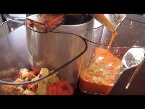 Video Avocado Vegetable Juice Recipe