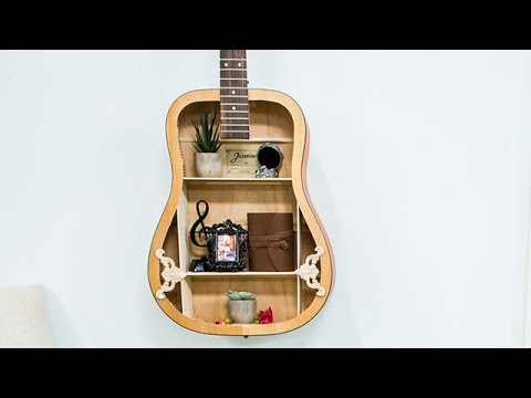 15 Diy Old Guitar Ideas For Home Decor