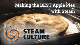 Making the BEST Apple Pies with Steam - Steam Culture