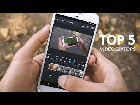 Top 5 Best Video Editing Apps For Android 2018!