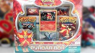 Pyroar  - (Pokémon) - Opening A Pokemon Flash Fire Pyroar Box!!
